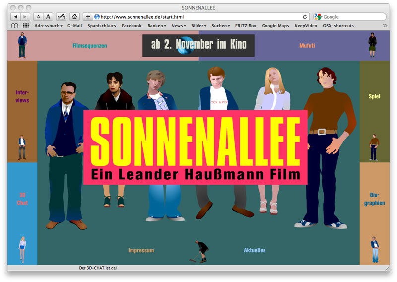 WEBSITE with voice forum, 3d-chat, games and animations (Flash, Php), 