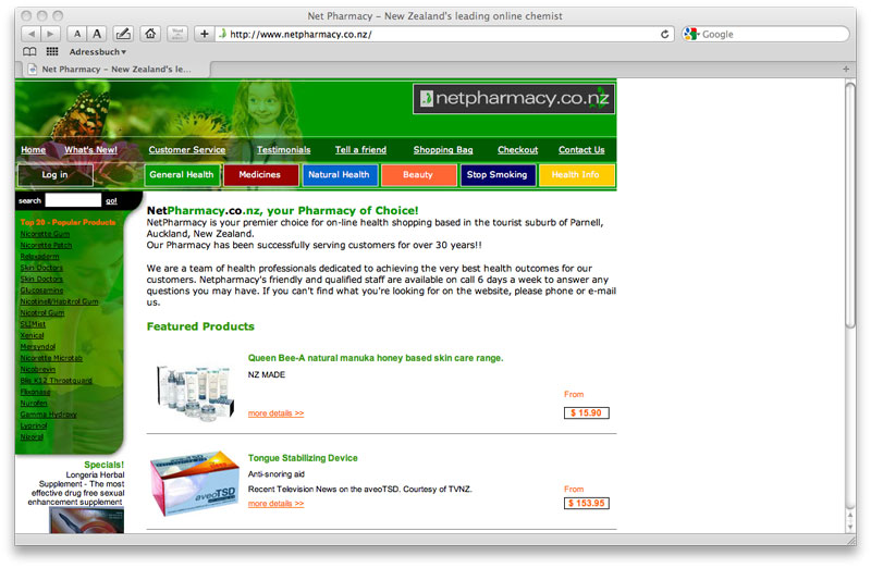 WEBSITE (re-design)