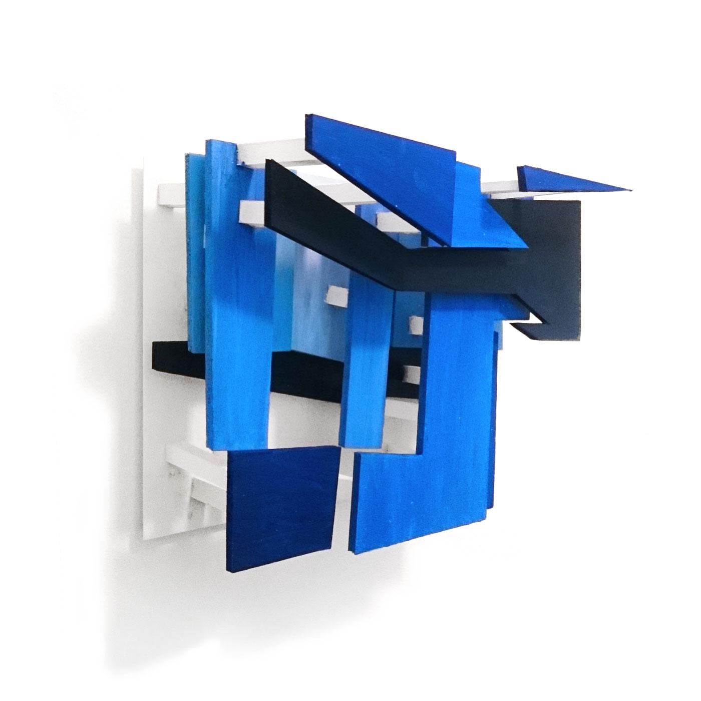 INSIDE CHILLIDA I, © 2015,  polysterol, acrylic paint, 26 x 18 x 12 cm