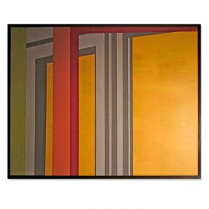 WINDOW,  © 2009, , acrylic paint on cardboard, 135 x 105 cm